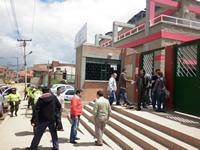 Una mujer lesionada luego de toma a la Autopista protagonizada por estudiantes de la IE Julio César Turbay