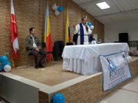 Con eucaristía se reinaugura Salón Comunal del primer sector de León XIII