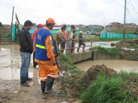 Alcaldía municipal de Soacha entregó el primer reporte de las zonas afectadas por el invierno