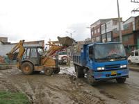Trabajos de prevención y atención permitieron disminuir el impacto del invierno en Soacha
