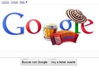Google refleja el Festival de la Leyenda Vallenata en logo