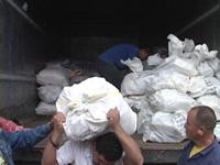 Más ayudas humanitarias para damnificados por el invierno