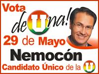 Juan Carlos Nemocón afrontará 'De Una' la consulta por la U