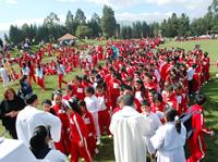 Un tributo al Beato Juan Pablo II en Soacha