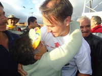Juan Carlos Nemocón lanzó campaña a la consulta por la U