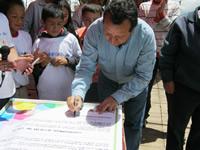 Administración Municipal firma pacto a favor de los niños de Soacha