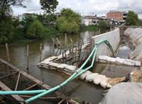 En Madrid se reinicia construcción de jarillón en el El Edén