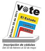 La inscripción de cédulas es únicamente para votar en las elecciones de autoridades locales del 30 de octubre, no en las consultas del 29 de mayo