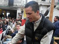 Saldarriaga apoya a José Gregorio pero quiere ser alcalde