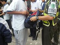 Armas blancas, marihuana y bazuco encuentran las autoridades en los colegios de Soacha