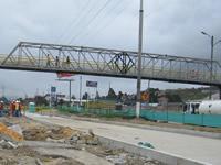 Comienza adecuación del puente peatonal de León XIII