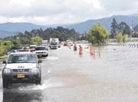 Se inicia construcción de muros de contención en la variante Chía-Bogotá