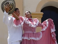 Festival nacional de danzas y zonal de bandas sinfónicas en Fusa