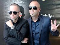 Wisin y Yandel graban video en Catedral de Sal de Zipaquirá