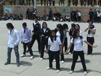 Policía Nacional y estudiantes de la IE Julio César Turbay se reconcilian