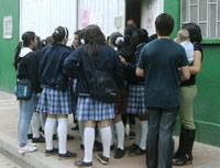 Estudiantes de la IE Las Villas denuncian hacinamiento y falta de docentes