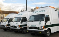 Alcalde José Ernesto Martínez entrega Centros de Atención Inmediata Móviles para Soacha