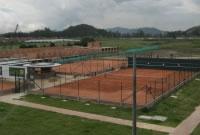 Inauguración del complejo deportivo Lagos de Malibú