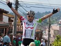 Ciclista soachuno Walter Pedraza ganó etapa en la Vuelta a Colombia