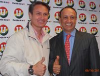 Juan Carlos Nemocón se reúne con Álvaro Cruz