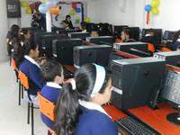 Institución Educativa León XIII estrenó su nueva aula de informática