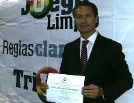 Juan Carlos Nemocón recibió oficialmente el Aval del Partido de la U