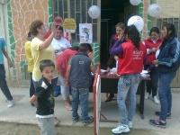 Con éxito se llevó a cabo la jornada 'Aseo mi Acera' en el barrio Pablo VI