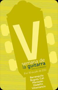 Quinta semana de la guitarra