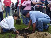 Hoy es la  jornada de arborización en el humedal Tierra Blanca