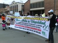 Desplazados de Soacha reclaman la formulación de una Política Pública de Atención para ellos