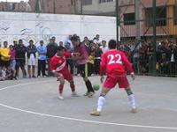 El pequeño templo del deporte en Soacha