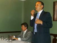 Álvaro Cruz anunció su apoyo a la candidatura de Fernando Ramírez