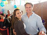 El cumpleaños del candidato Juan Carlos Nemocón