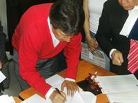 Fernando Ramírez se inscribió oficialmente como Candidato a la Alcaldía de Soacha