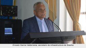 Ernesto García Valderrama, secretario de infraestructura de Soacha