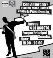 Este jueves 'Plantón de antorchas por el Derecho a la Educación Pública'