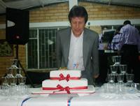 El cumpleaños de Fernando Ramírez,  candidato de Cambio Radical