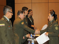 SENA graduó 43  aprendices vinculados a la Policía Nacional