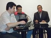'Queremos demostrar que se puede hacer política sin plata', dijo Luis Alfredo Chía en Punto de Encuentro