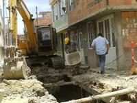 Se reanuda la construcción del Alcantarillado de León XIII