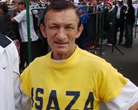El  'abuelo' del  Atletismo colombiano de paso por Soacha
