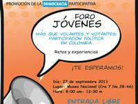 Análisis de la Participación y la Incidencia de los jóvenes en la política
