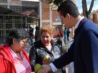 Campaña de Saldarriaga Alcalde realizó 'Naranjatón' en Soacha