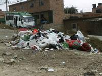 'Entre la basura' están viviendo los habitantes de Ciudadela Sucre