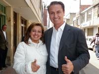 Consuelo González adhirió  a Juan Carlos Nemocón