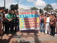 Comerciantes de Soacha exigen la derogación del Decreto 382