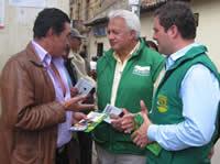 """Everth Bustamante cierra campaña """"con su gente y en Cundinamarca»"""