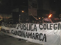 Universidad Colegio Mayor de Cundinamarca oficializa Paro Indefinido