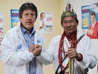 Movimiento Político Autoridades Indígenas de Colombia 'AICO' adhiere a la campaña de Fernando Ramírez