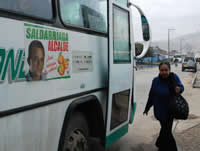 Con éxito continúan jornadas pedagógicas del transporte urbano, Saldarriaga alcalde, 'para refrescar la política'